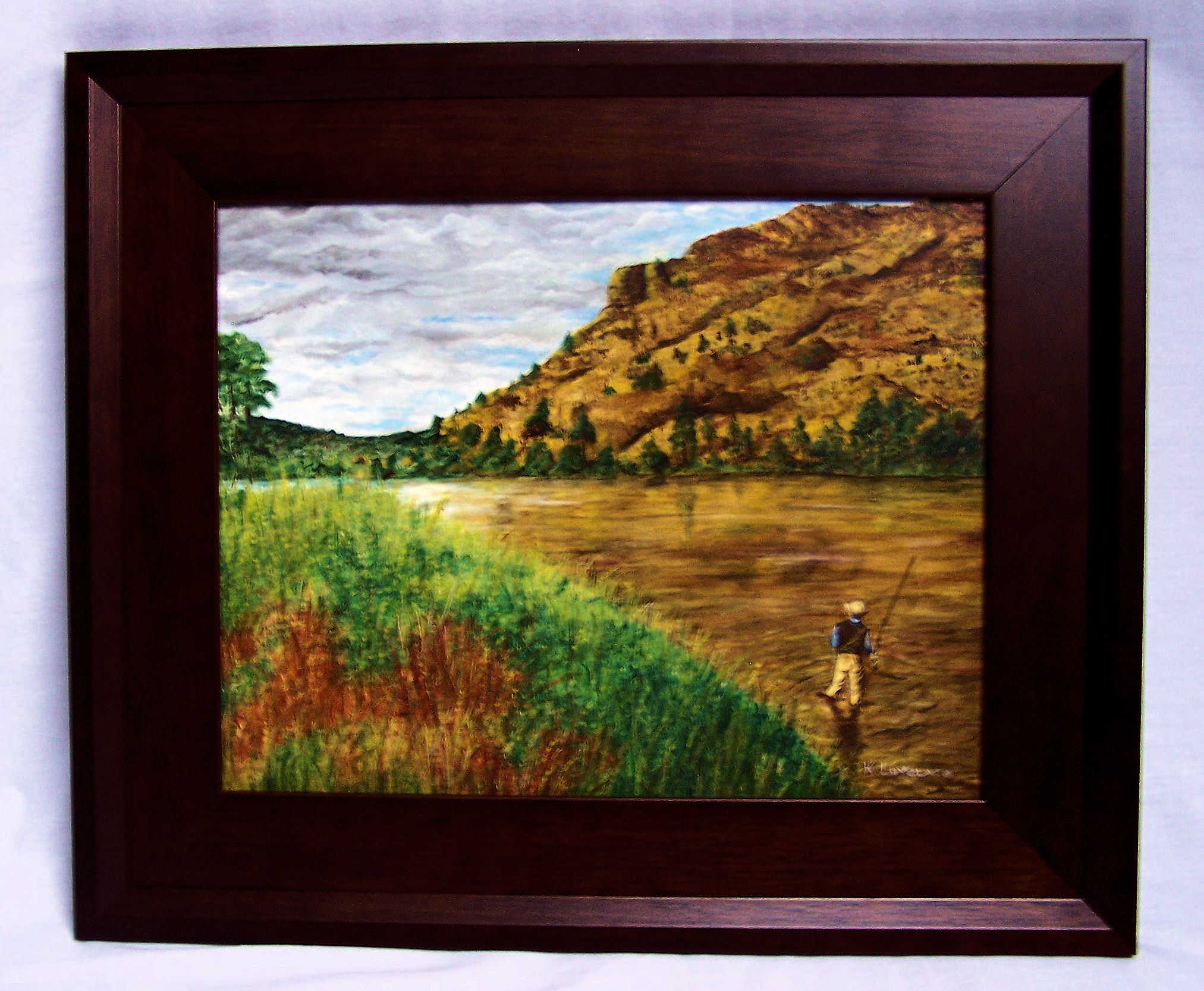 Framed Art Troutpainter Com