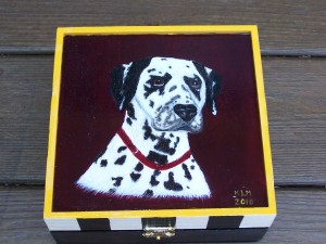 Dalmation Painting