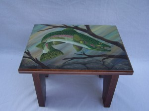 Rainbow trout stool