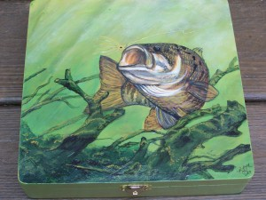 Small Mouth Bass Painting