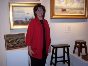 Kathy Lovelace at Art market Gallery